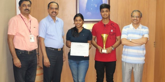 SIDTM students in Nation Level competition